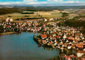 AK / Ansichtskarte Bad_Waldsee Fliegeraufnahme Bad_Waldsee