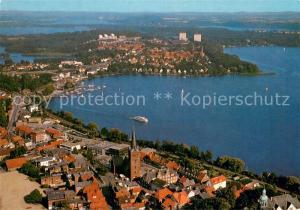 AK / Ansichtskarte Ploen_See Fliegeraufnahme Ploen_See
