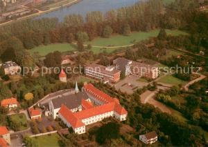 AK / Ansichtskarte Warendorf Marienheim und Franziskanerkloster Fliegeraufnahme Warendorf