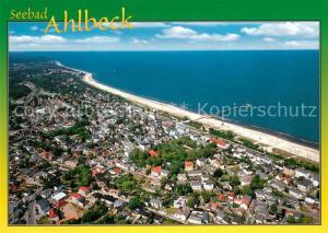 AK / Ansichtskarte Ahlbeck_Ostseebad Fliegeraufnahme Ahlbeck_Ostseebad
