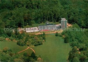 AK / Ansichtskarte Bad_Pyrmont Bomberg Hotel Fliegeraufnahme Bad_Pyrmont