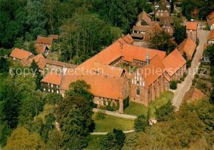 AK / Ansichtskarte Wienhausen Kloster Fliegeraufnahme Wienhausen