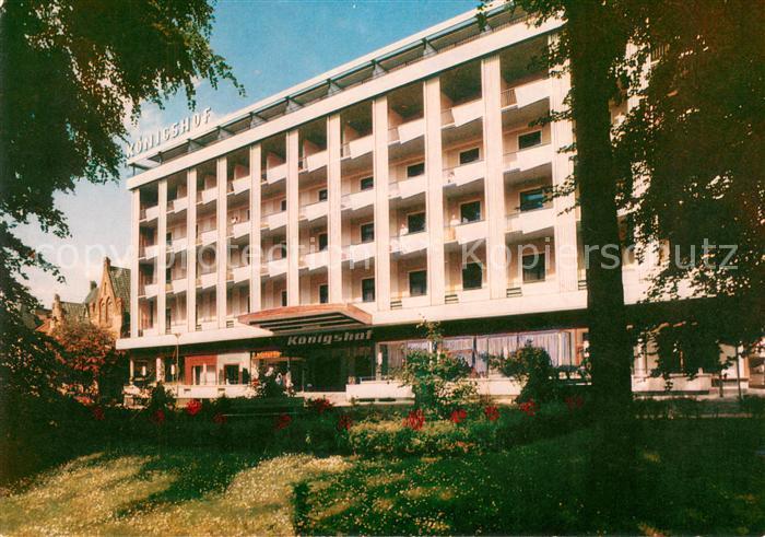 AK / Ansichtskarte Bad_Oeynhausen Hotel Koenigshof Bad