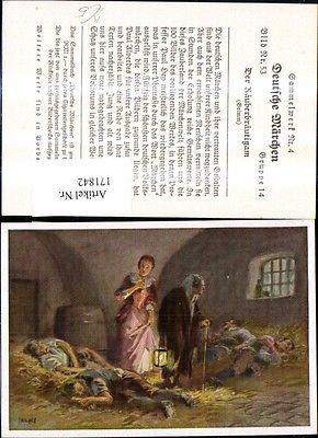 Deutsche Märchen Sammelbild Paul Hey Der Räuberbräutigam v. Grimm