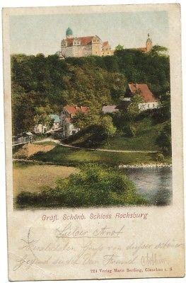 1256;Gräfl. Schloss Rochsburg Mulde*1900*