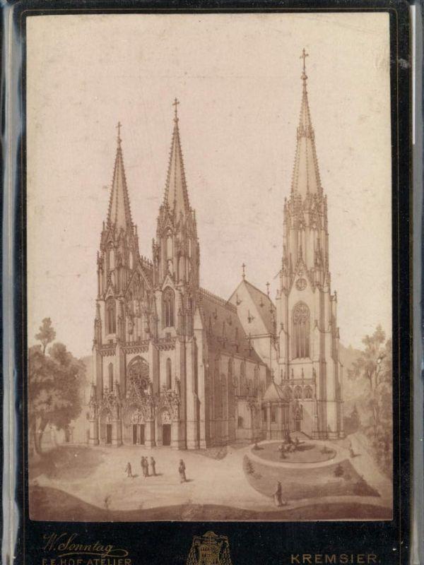 CDV Kremsier Kromerizi Kirche Dom pub W. Sonntag