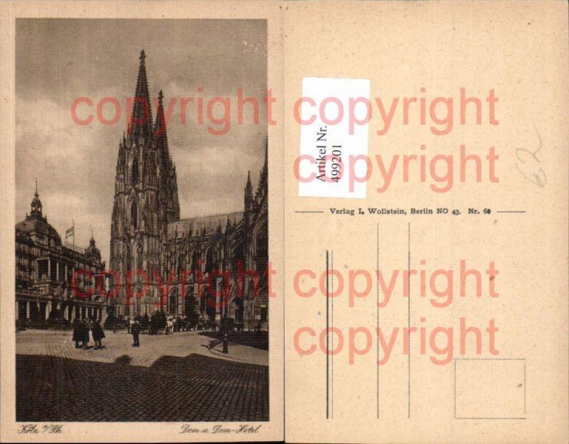 Köln a. Rhein Dom u. Domhotel Hotel