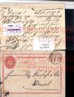 Ganzsache Brief Stempel Schaffhausen 1870