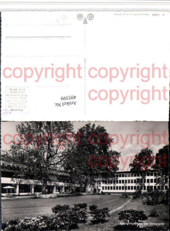 Basel Kollegiengebäude der Universität