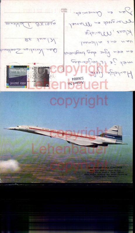 Aviaktik Flugzeug Concorde Aerospatiale BAC