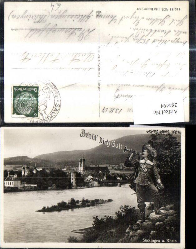 Trompeter von Säckingen a. Rhein Sage Behüt Dich Gott