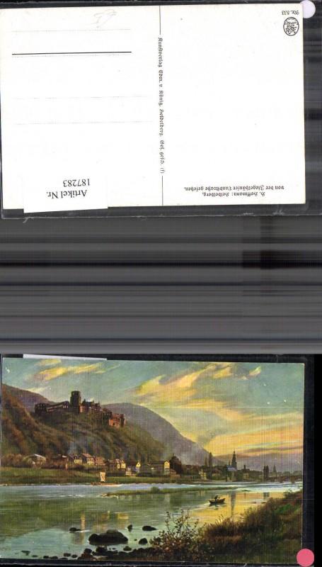 Künstler Ak Heinrich Hoffmann Heidelberg v. d. Ziegelhäuser Landstrasse g