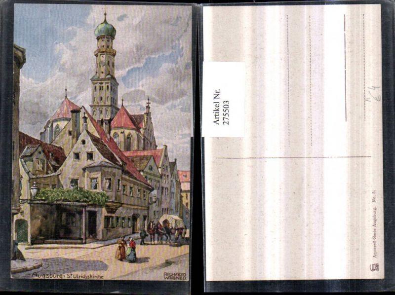 Künstler Augsburg künstler ak richard wagner augsburg fünfgradturm nr 7110156