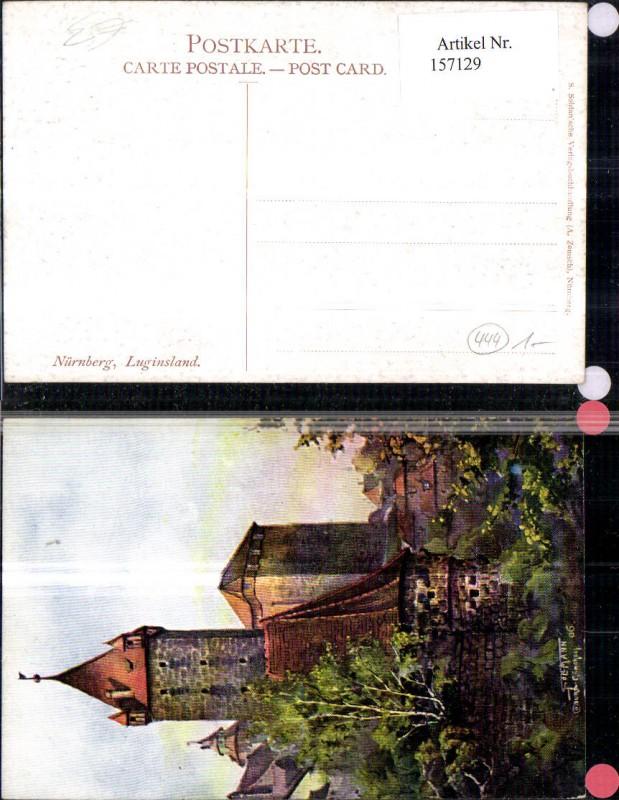 n rnberg luginsland nr 188175 oldthing ansichtskarten. Black Bedroom Furniture Sets. Home Design Ideas
