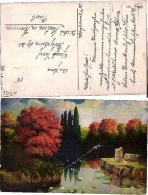 35158;Amag 1045 Landschaft sign. G. Fiebiger