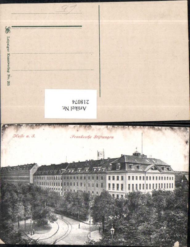 Halle a. d. Saale Frankesche Stiftung Gebäude