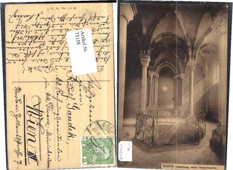 73158;Eger Kaiserburg Doppelkapelle