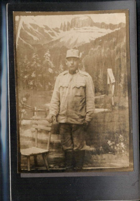 CDV WW1 Soldat Uniform K.K. Armee Gebirgsjäger