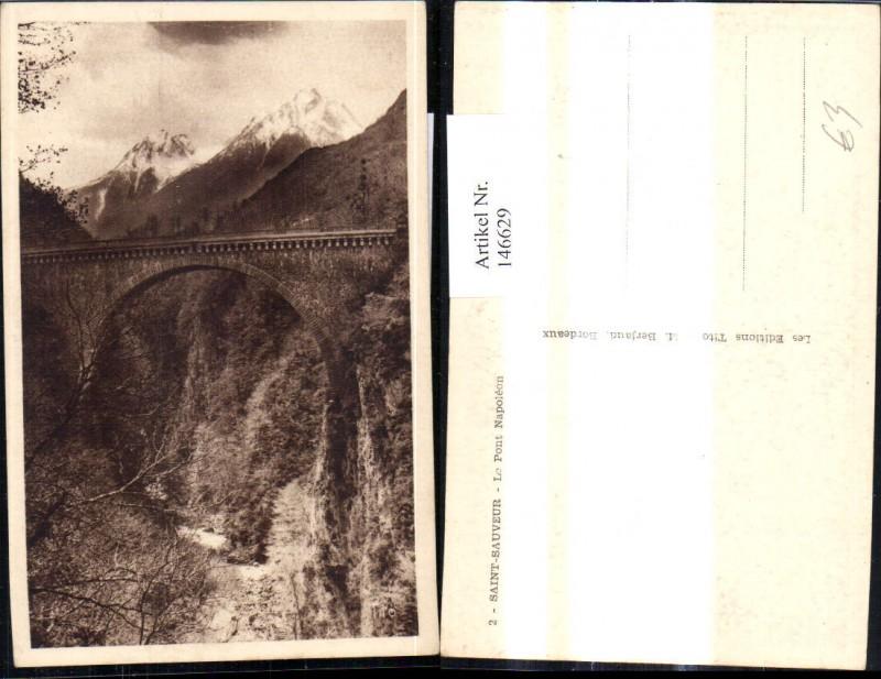 Saint Sauveur Le Pont Napoleon Brücke
