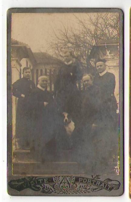 CDV ST Georgen a.d. Gusen b. Mauthausen Perg Priester