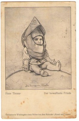 27809,H. Thoma D. Bewaffnete Friede – Kind Rüstung