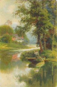 27869,Meissner & Buch 2455 Boot auf Fluss