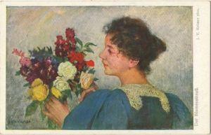27920,B.K.W.I. 1239 V. Krämer Blumenstrauß