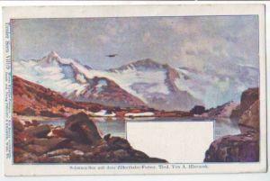 Philipp & Kramer Tiroler Seen Schwarz See Zillerthal Wiener Künstler Postkarte