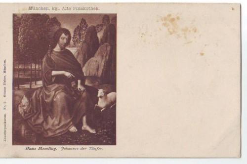30387,Domenico Ghirlandajo Maria m. Den 4 Heiligen +Zieher AK 34+