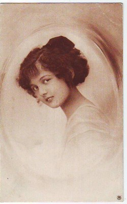30708,RPH 716-3 Nice Woman Frau Portrait