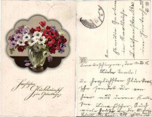 35175,Meissner & Buch 2333 Geburtstag Birthday FLOWERS