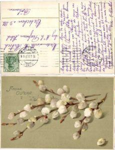 35186,Meissner & Buch 1562 Ostern Easter catkin