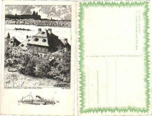 35896,Schloss Luberegg b. Melk m. Stift Wachau sign. Ulf Seidl