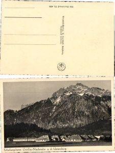 36033,Erholungsheim Grödig Niederalm Untersberg Salzburg 1940