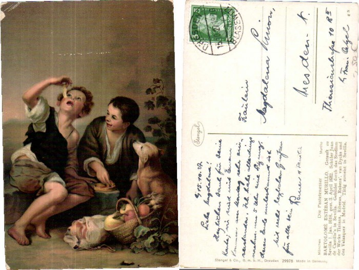 38776,Stengel & Co 29978 Die Pastetenesser E. Murillo