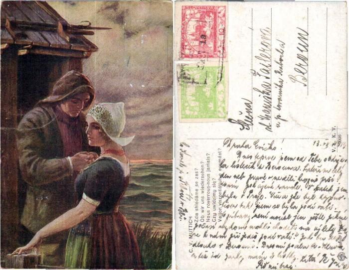 43777,K.V. Muttich Ob wir uns wiedersehn Holländische Trachten