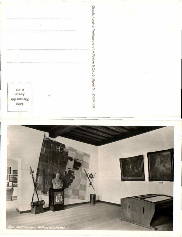 46283,Eger Cheb Stadtmuseum Wallensteinzimmer