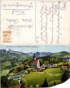 49619,Dürnberg bei Hallein Ortsansicht Purger Co 10853