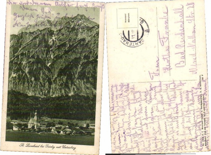51508,St Leonhard bei Grödig Salzburg Untersberg