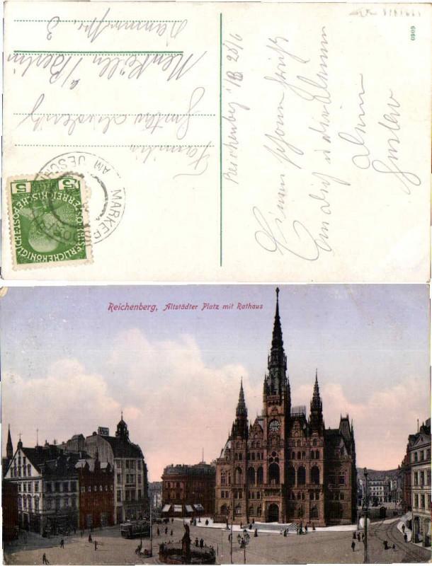 51569,Reichenberg Altstädzer Platz Rathaus
