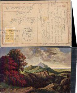 53972,Künstlerkarte Landschaft G. Fiebiger sign.