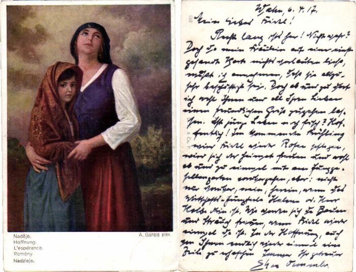 56024,A. Gareis Hoffnung Frau Mutter Kind Tochter
