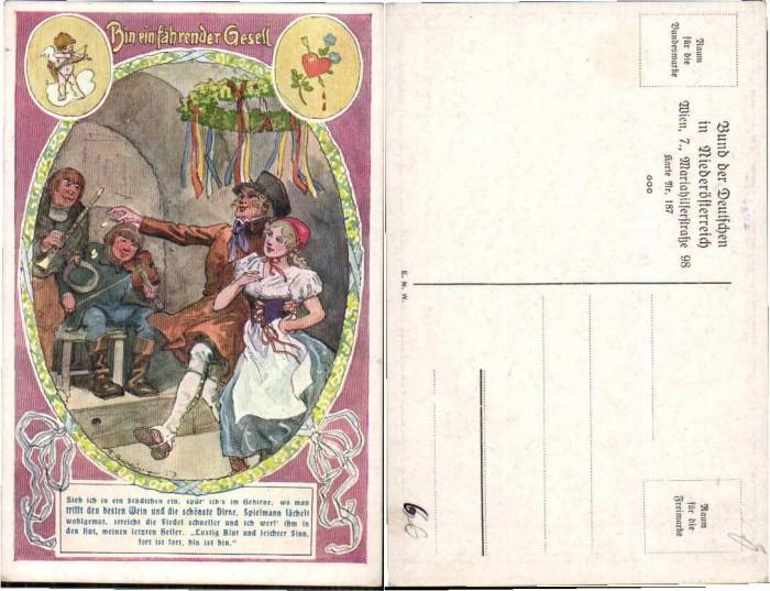 57124,Bund d. Deutschen Niederösterreich 187 F. Gareis