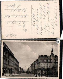 60608,Jägerndorf Krnov Lichtensteinplatz Strassenpartie