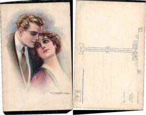 63309,T. Corbella Jugendstil Liebespaar Paar