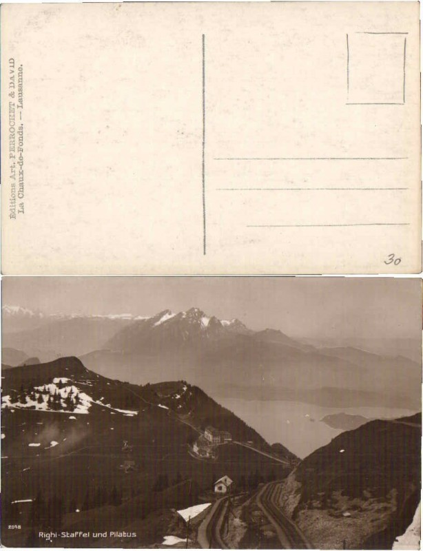 63337,Rigi Gipfel Staffel m. Pilatus