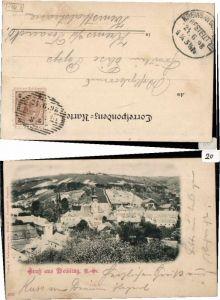 63611,Gruss aus Weidling bei Klosterneuburg 1897
