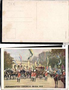 64454,Wien 1912 Eucharisten Congress C. Benesch sign. B.K.W.I 1