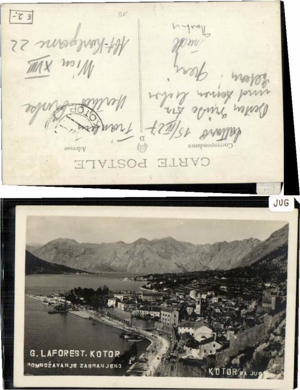 67477,G. Laforest Kotor 1940