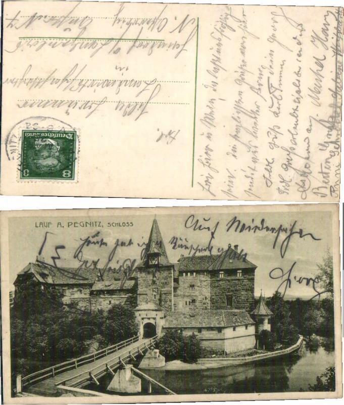 69191,Lauf a.d. Pegnitz Partie um 1920 0